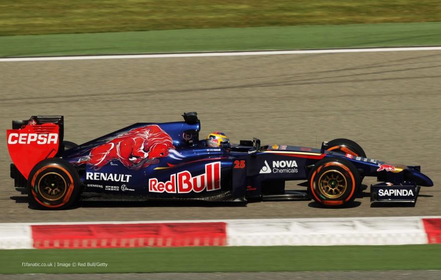 Toro Rosso 2014 STR9 Jean-Eric Vergne Bahrain