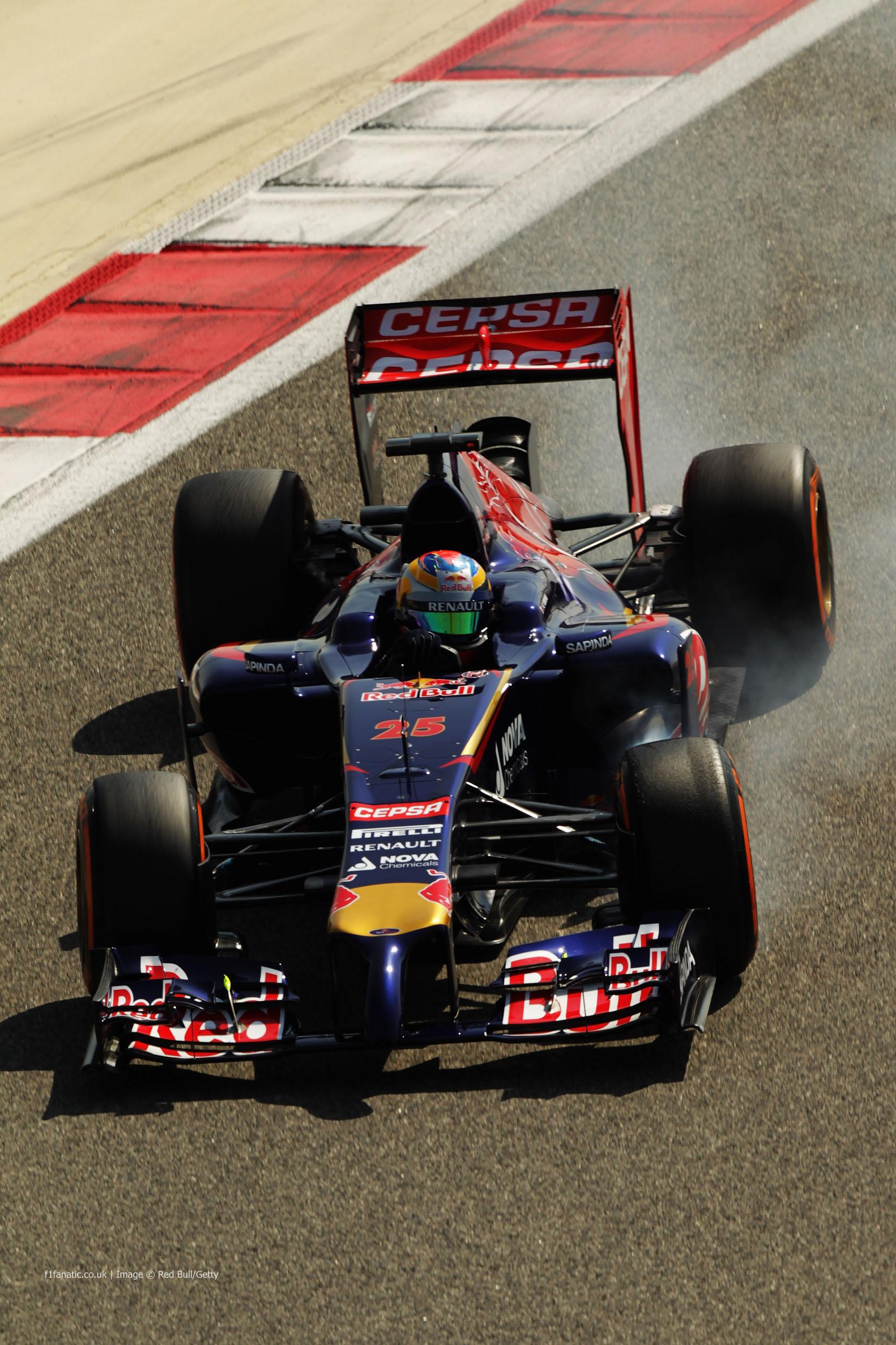Jean-Eric Vergne, Toro Rosso, Bahrain, 2014