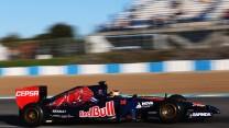 Jean-Eric Vergne, Toro Rosso, Jerez, 2014