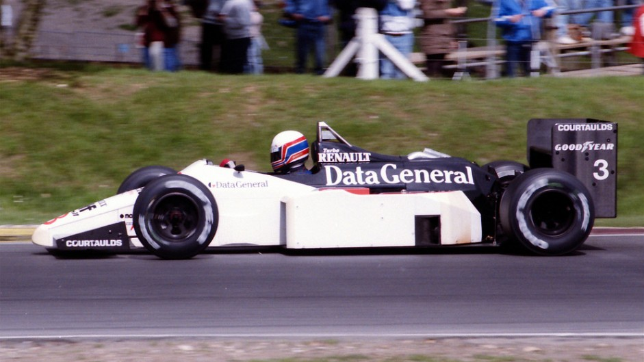 Martin Brundle, Tyrrell, Brands Hatch, 1986