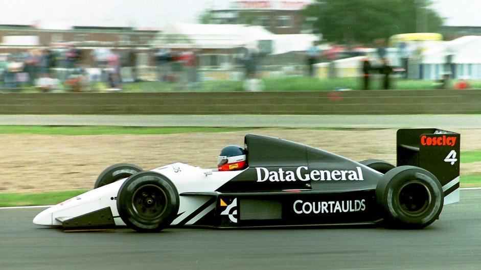 Philippe Streiff, Tyrrell, Silverstone, 1987