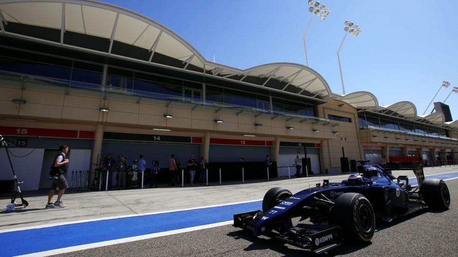 Valtteri Bottas, Williams, Bahrain, 2014