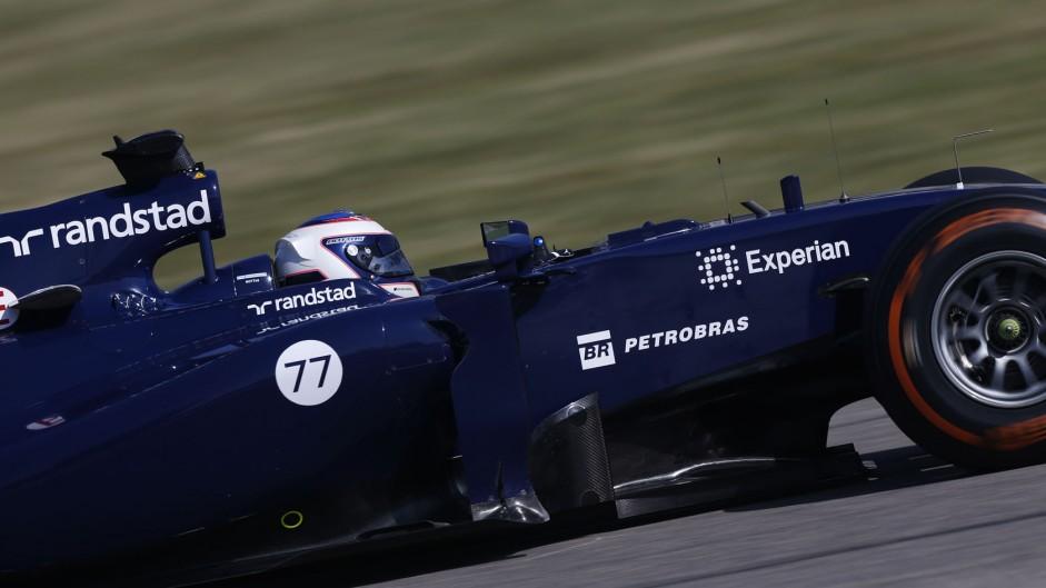"Williams ""very happy"" despite engine failure"