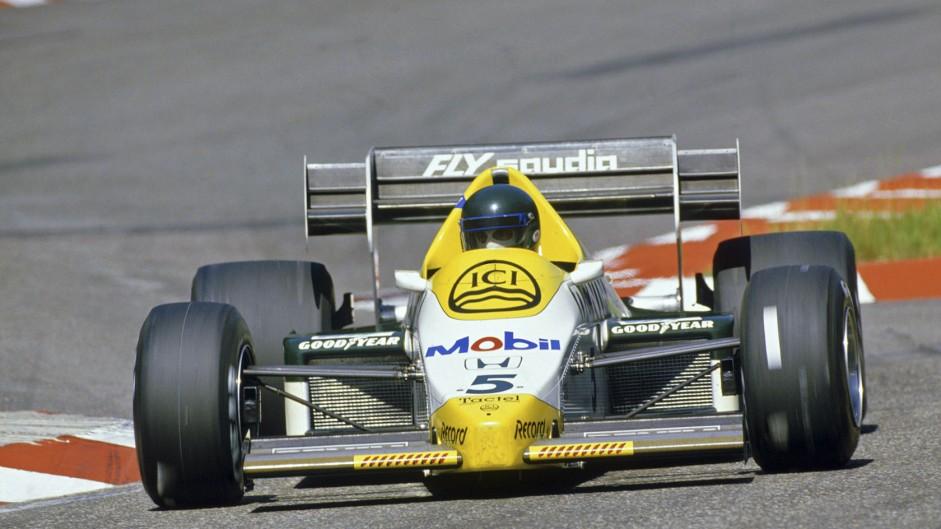 Jacques Laffite, Williams, Hockenheimring, 1984