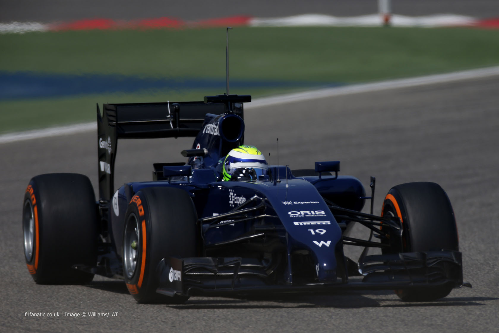 Felipe Massa, Williams, Bahrain, 2014