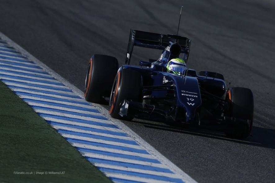 Felipe Massa, Williams, Jerez, 2014