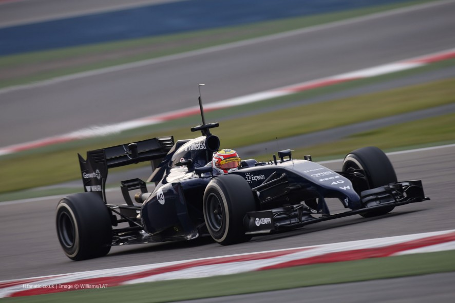 Felipe Nasr, Williams, Bahrain, 2014