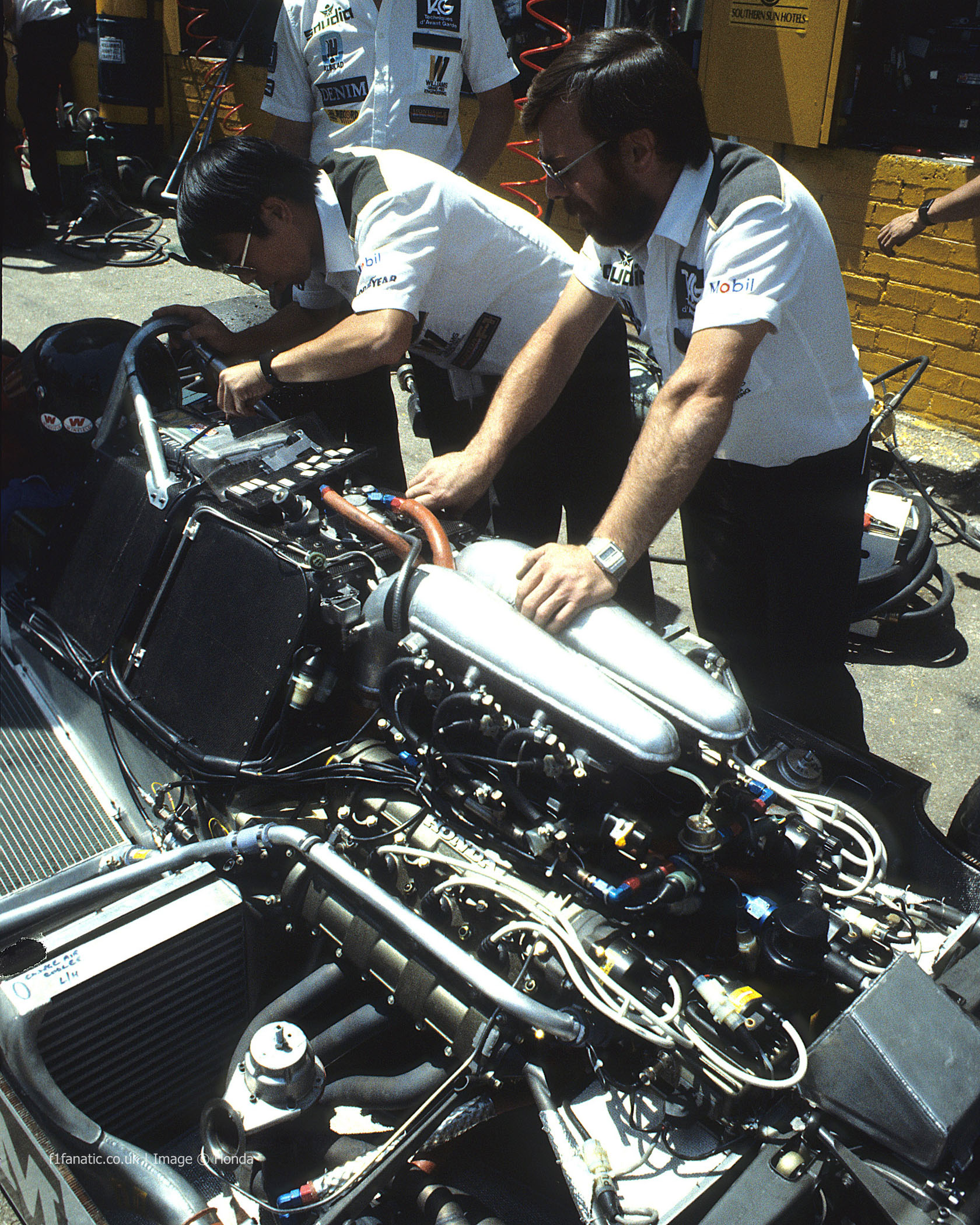 Williams, Kyalami, 1983
