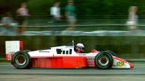 Martin Brundle, Zakspeed, Silverstone, 1987