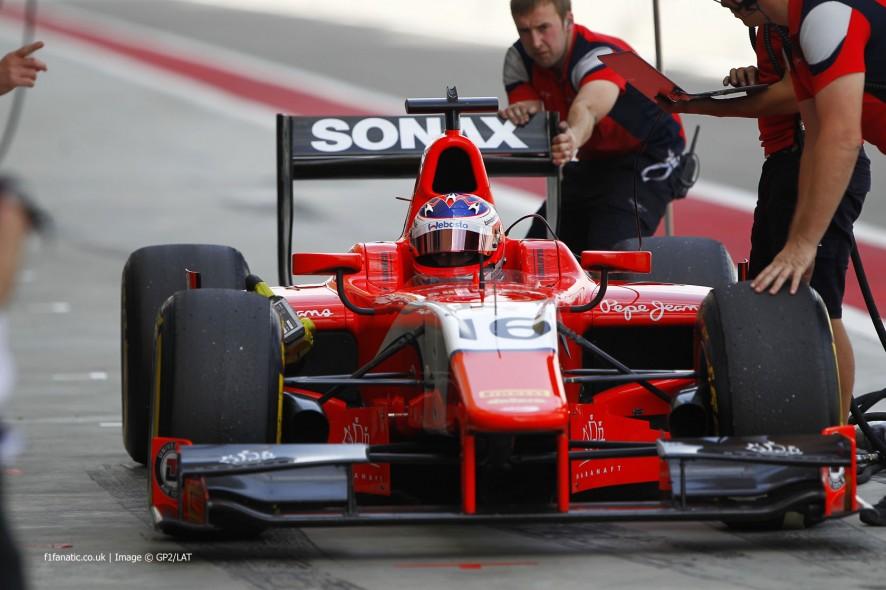Rene Binder, Arden, GP2, Bahrain, 2014