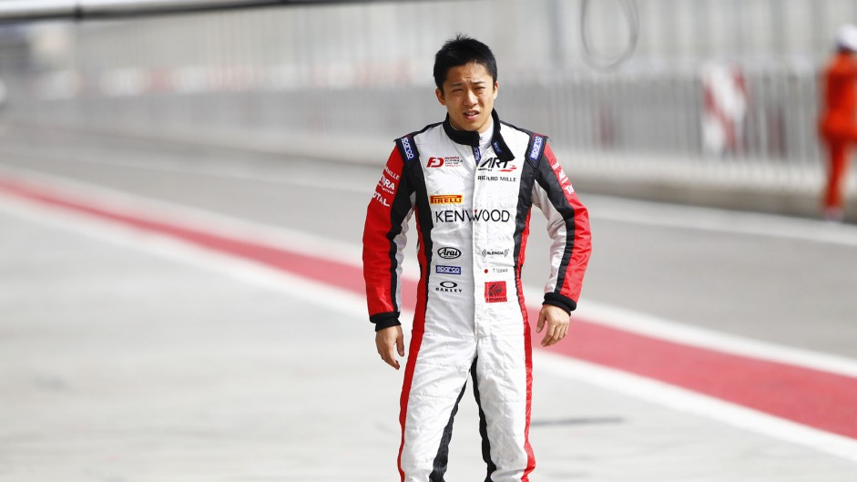 Takuya Izawa, ART, GP2, Bahrain, 2014