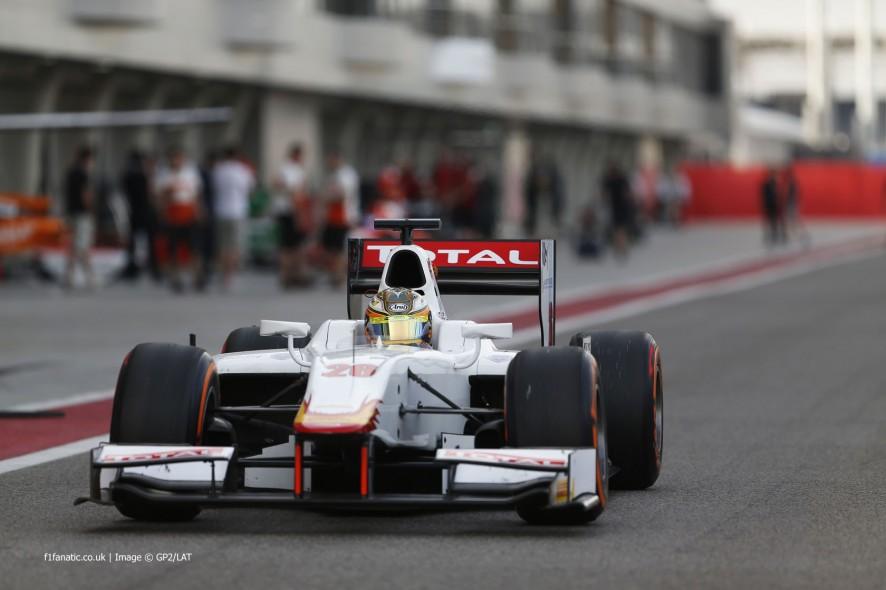 Arthur Pic, Campos, GP2, Bahrain, 2014