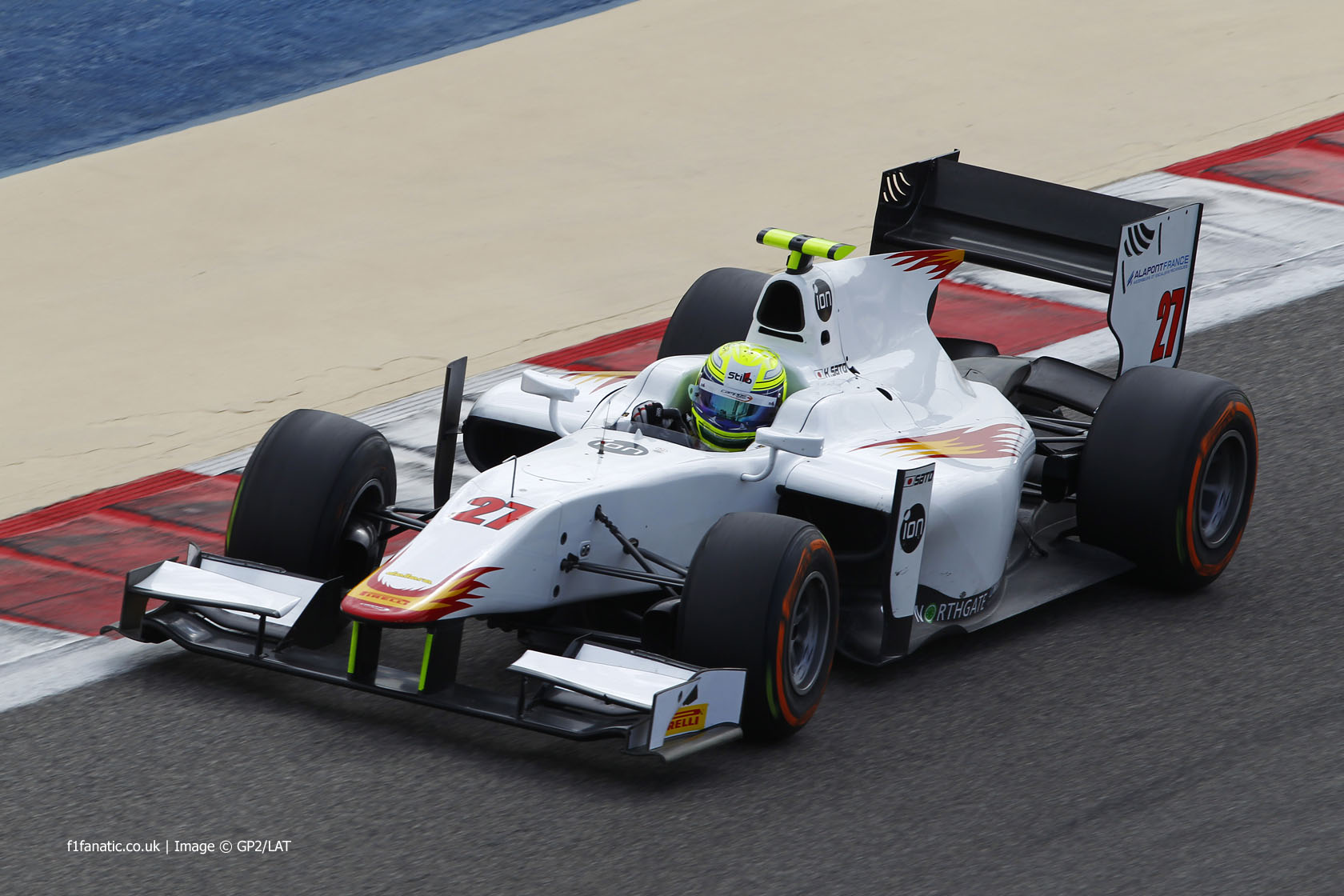 Kimiya Sato, Campos, GP2, Bahrain, 2014