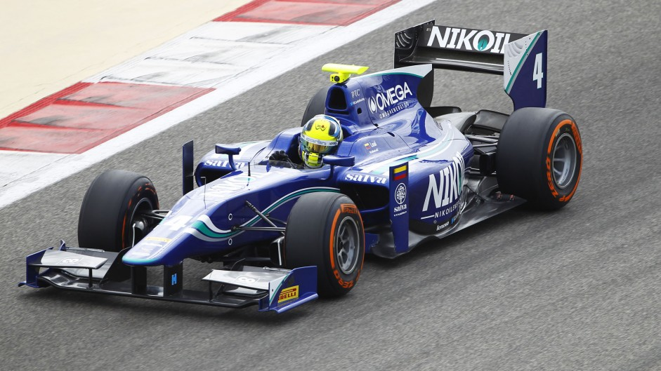 Julian Leal, Carlin, GP2, Bahrain, 2014