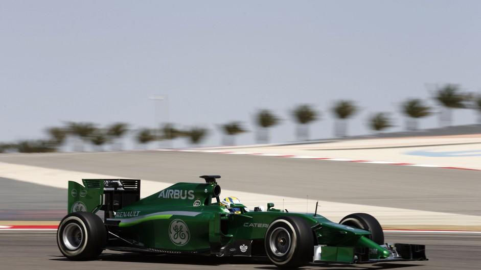 Marcus Ericsson, Caterham, Bahrain, 2014