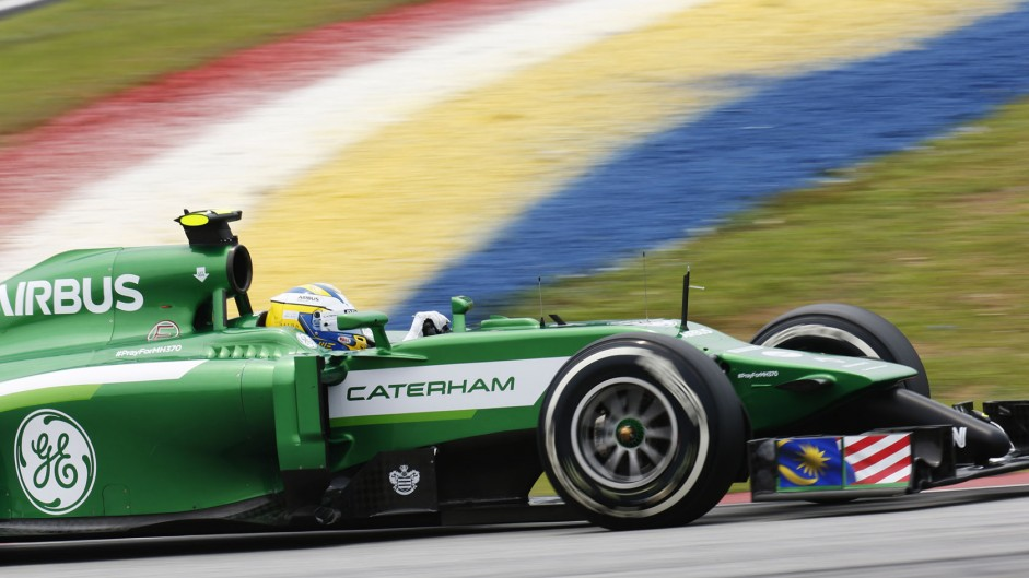 Marcus Ericsson, Caterham, Sepang International Circuit, 2014