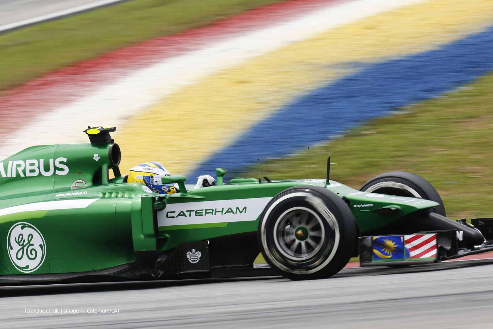 Marcus Ericsson, Caterham, Sepang International Circuit, 2014