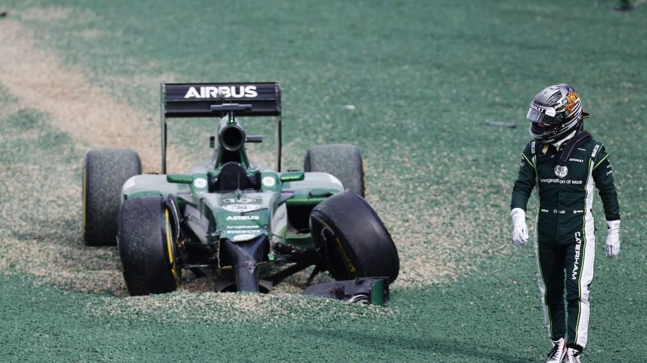 Top ten pictures from the 2014 Australian Grand Prix