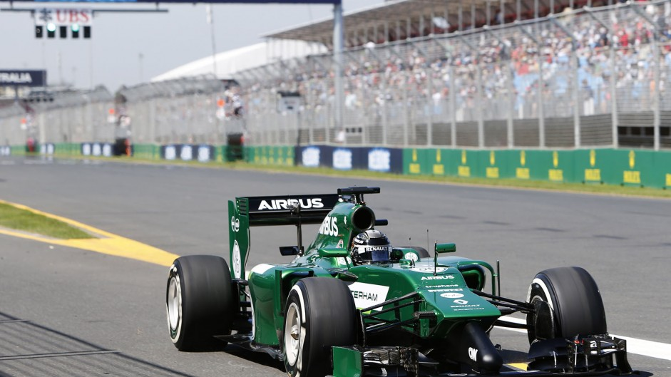 Caterham duo rue disastrous first day