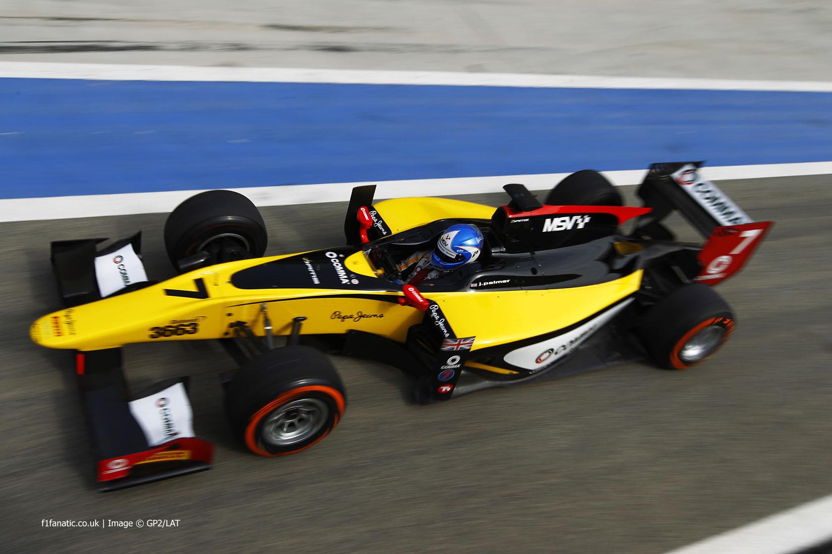 Jolyon Palmer, DAMS, GP2, Bahrain, 2014
