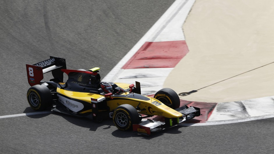 Stephane Richelmi, DAMS, GP2, Bahrain, 2014