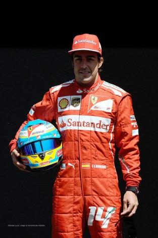 Fernando Alonso, Ferrari, Albert Park, 2014