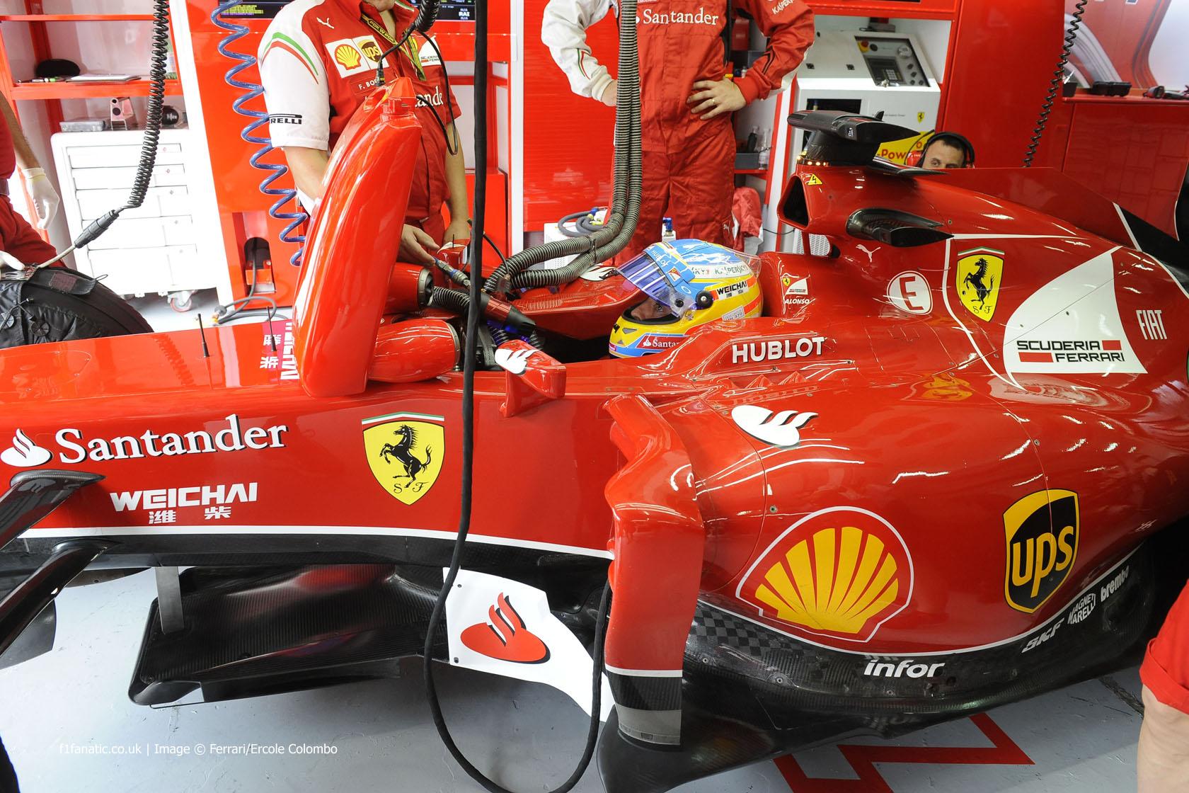 Fernando Alonso, Ferrari, Sepang International Circuit, 2014