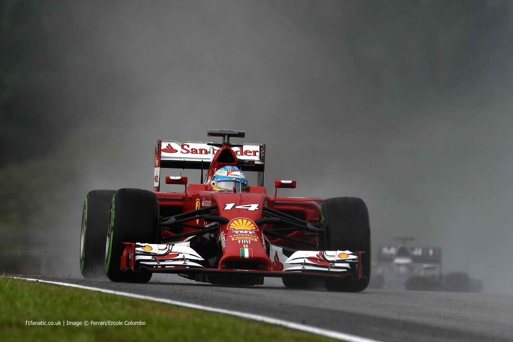 Fernando Alonso, Ferrari, Sepang International Circuit, 2014