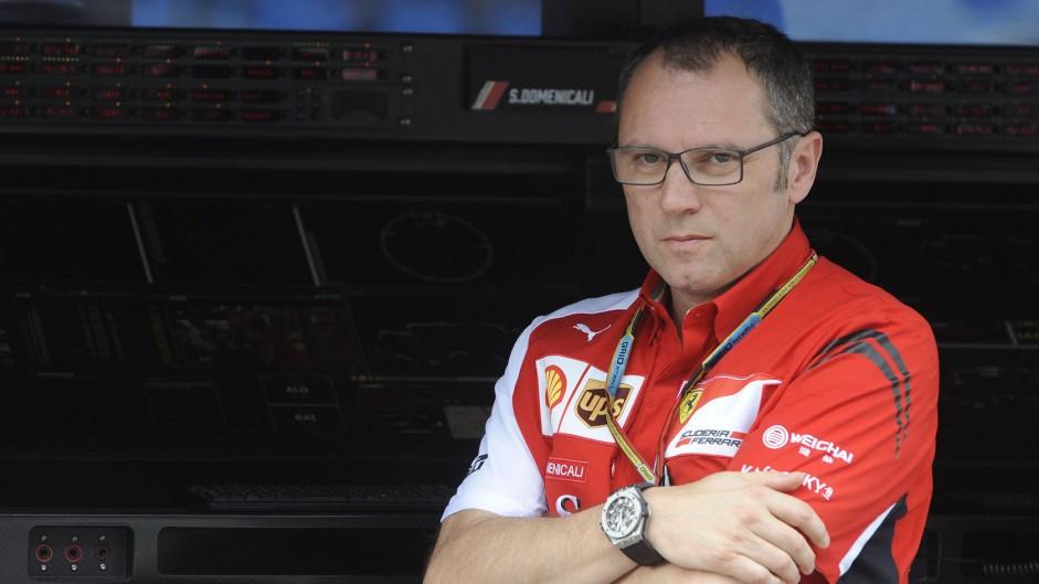Stefano Domenicali, Ferrari, Albert Park, 2014