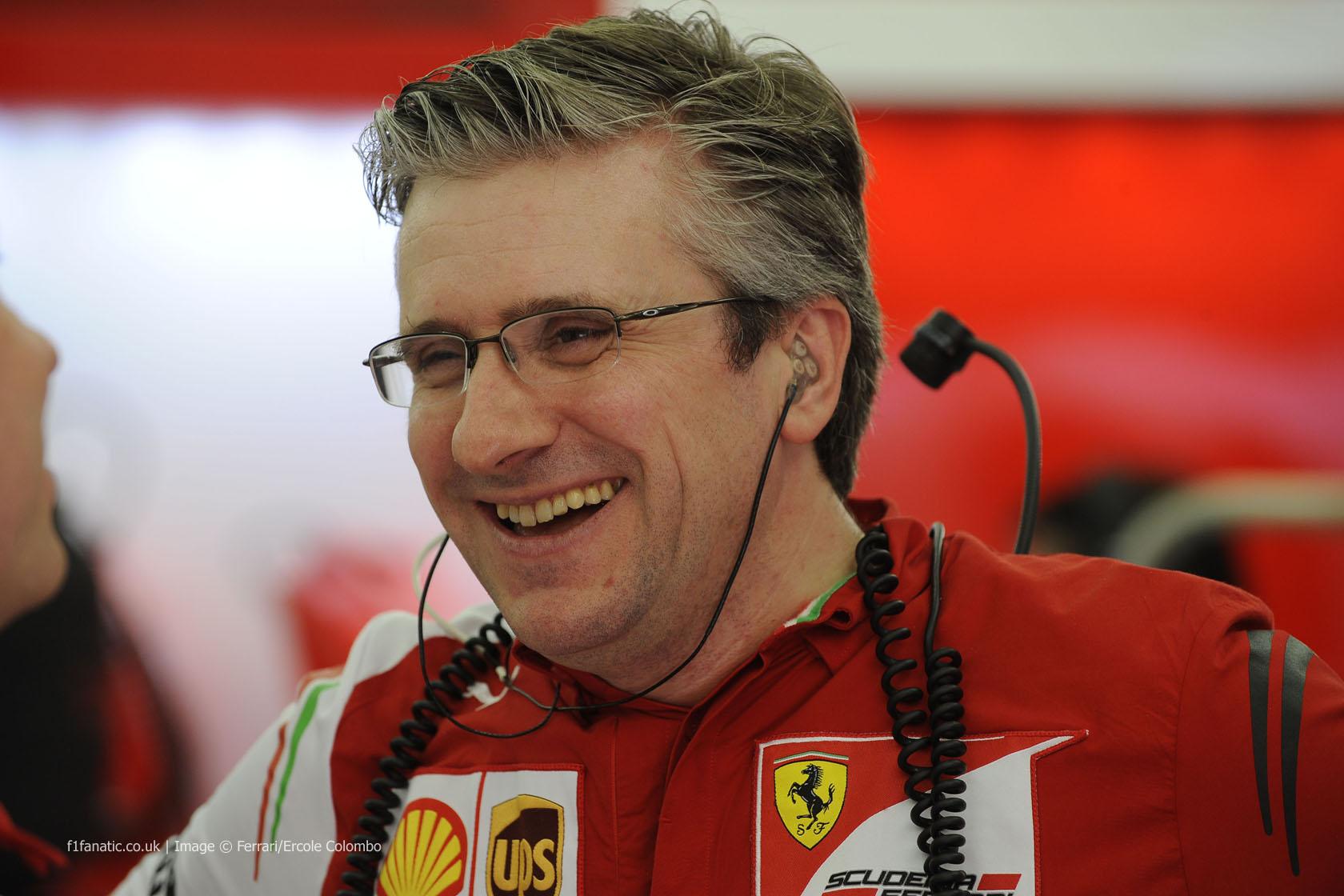 Pat Fry, Ferrari, Bahrain, 2014