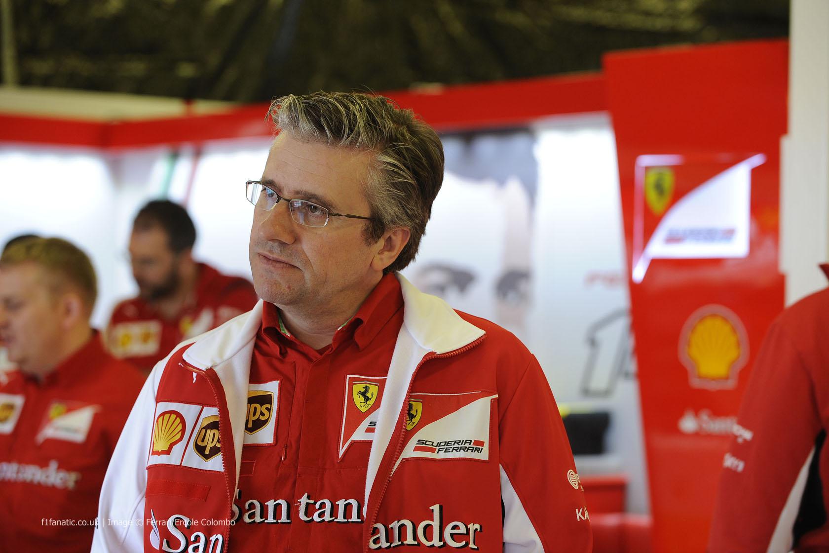 Pat Fry, Ferrari, Albert Park, 2014