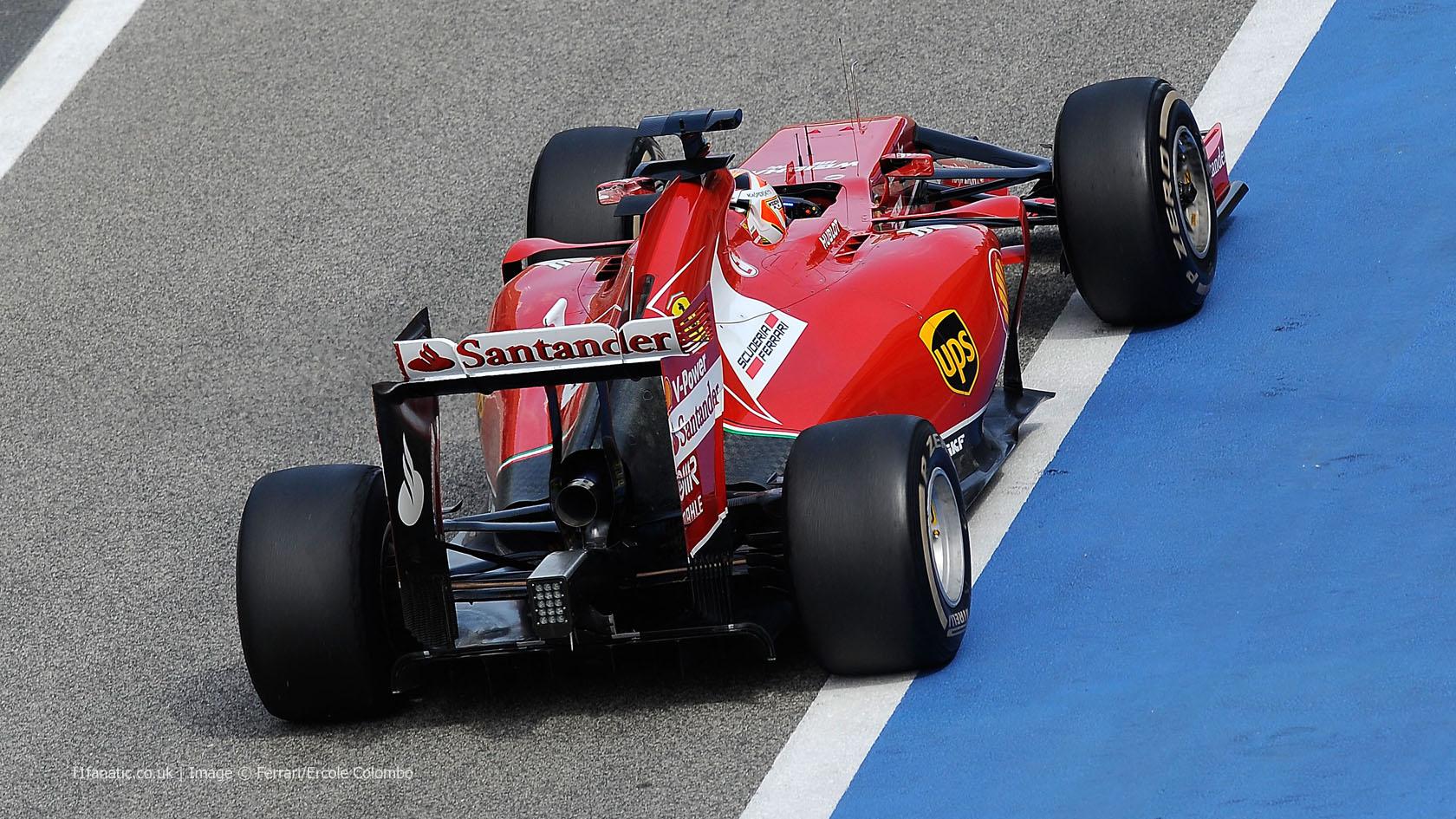 Kimi Raikkonen, Ferrari, Bahrain, 2014