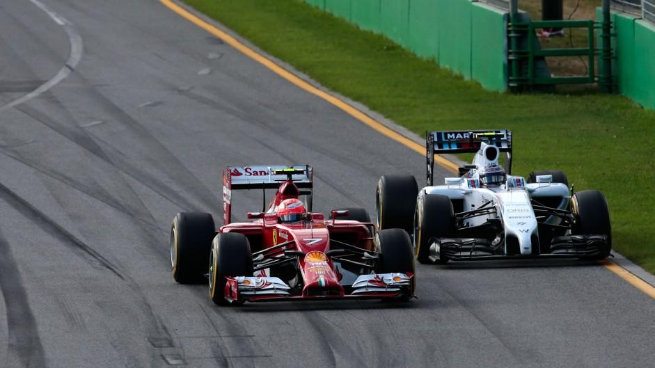 2014 Australian Grand Prix lap charts