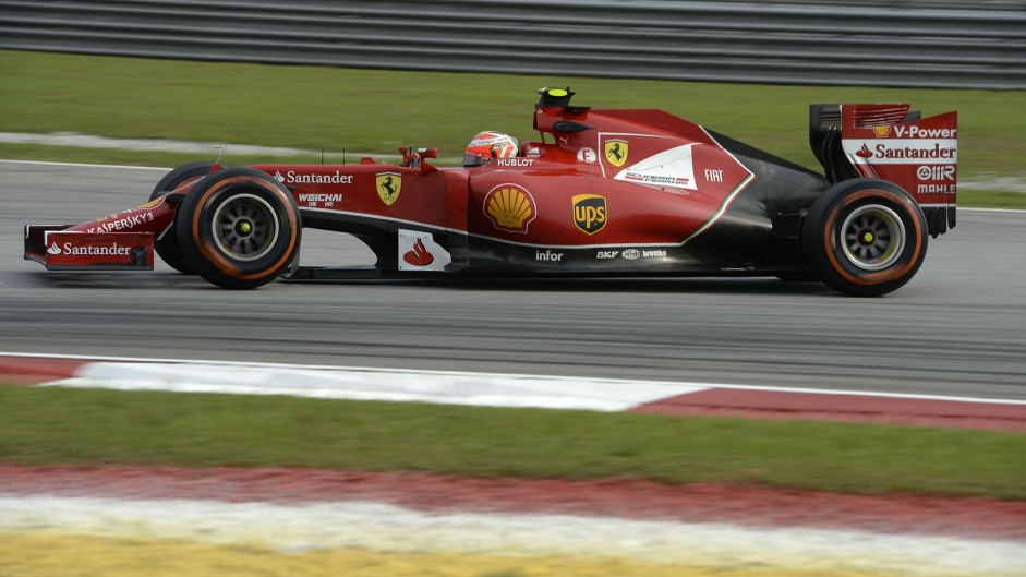 Kimi Raikkonen, Ferrari, Sepang International Circuit, 2014