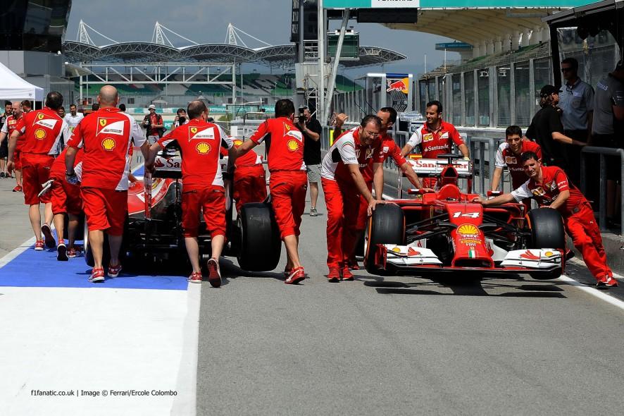 Ferrari, Sepang International Circuit, 2014
