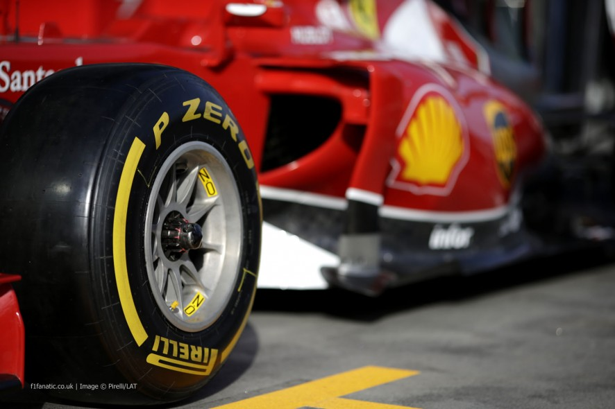 Ferrari, Melbourne, 2014
