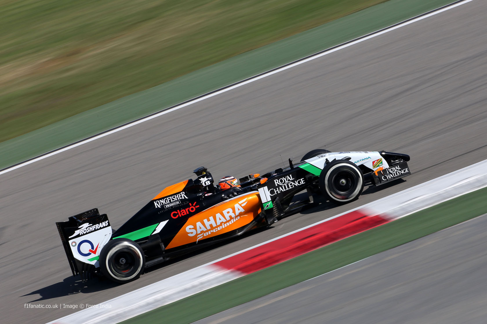 Nico Hulkenberg, Force India, Bahrain, 2014