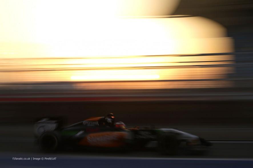 Nico Hulkenberg, Force India, Bahrain, 2014
