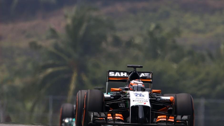 Nico Hulkenberg, Force India, Sepang International Circuit, 2014