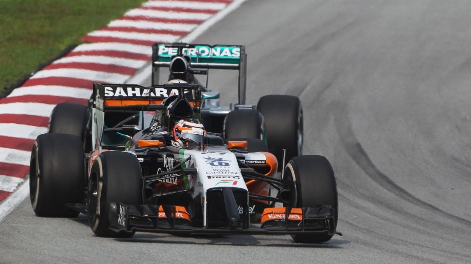 2014 Malaysian Grand Prix lap charts