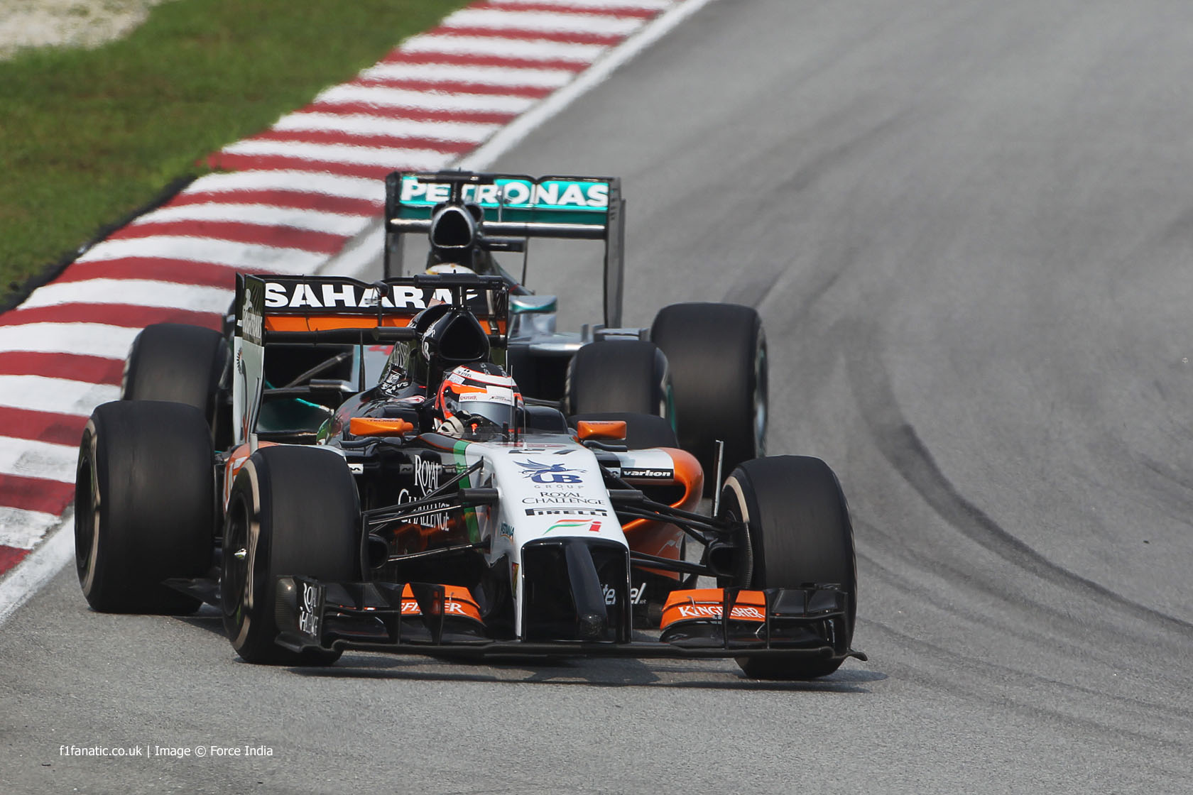 Nico Hulkenberg, Force India, Sepang International Circuit, 2014