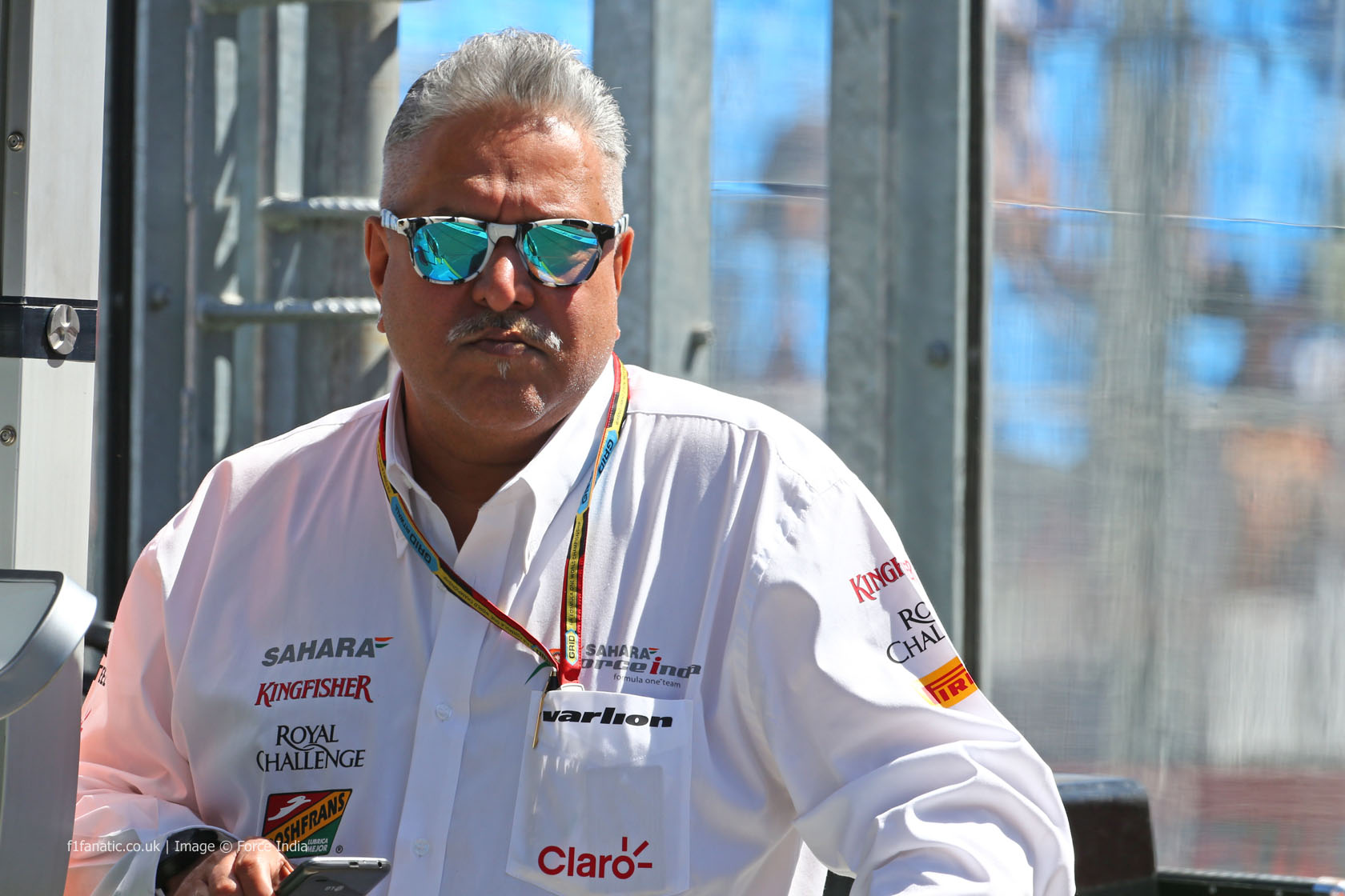Vijay Mallya, Force India, Albert Park, 2014