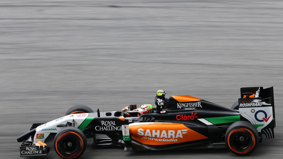 Sergio Perez, Force India, Sepang International Circuit, 2014