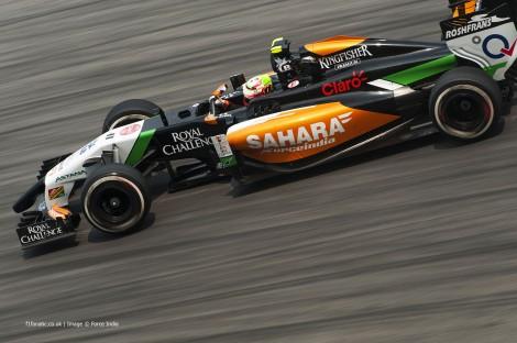 Sergio Perez, Force India, Sepang International Circuit, 2014