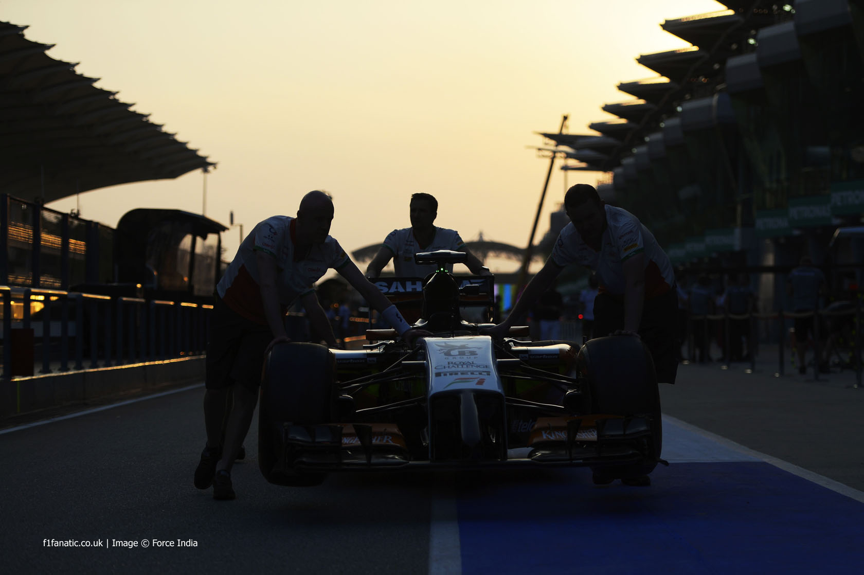 Force India, Sepang International Circuit, 2014