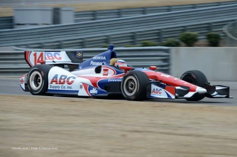 Takuma Sato, Foyt, Barber Motorsport Park, 2014