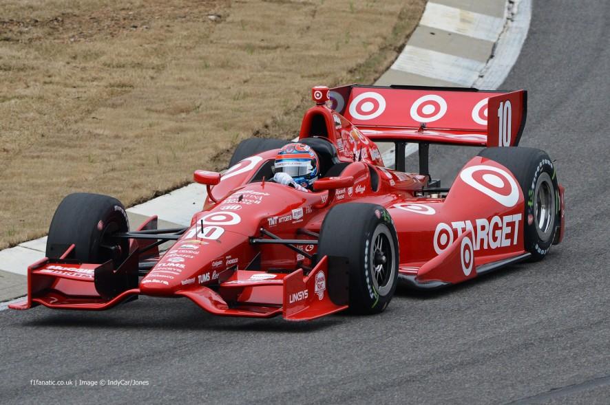 Tony Kanaan, Ganassi, Barber Motorsport Park, 2014