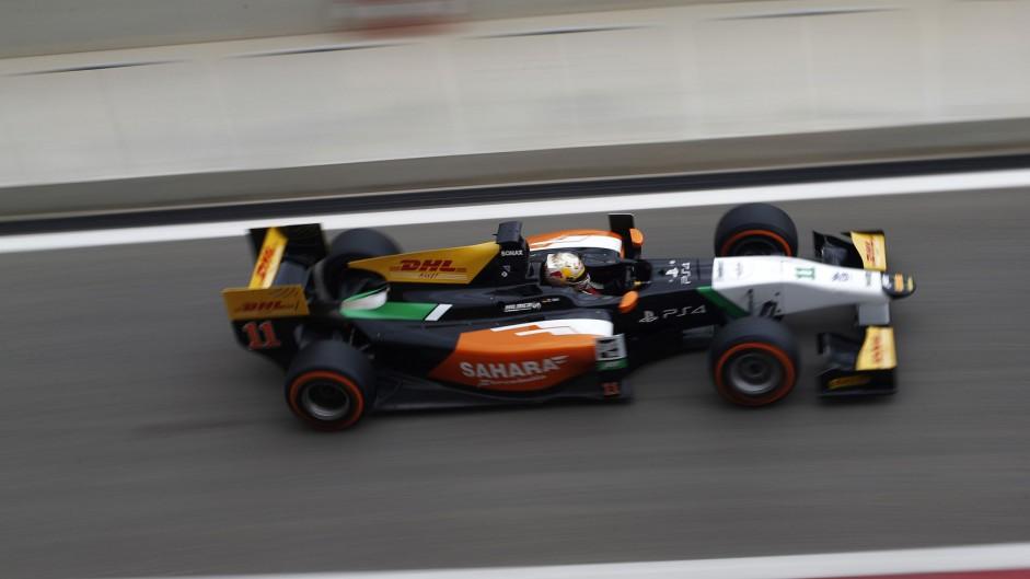 Daniel Abt, Hilmer, GP2, Bahrain, 2014