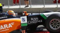 Facu Regalia, Hilmer, GP2, Bahrain, 2014