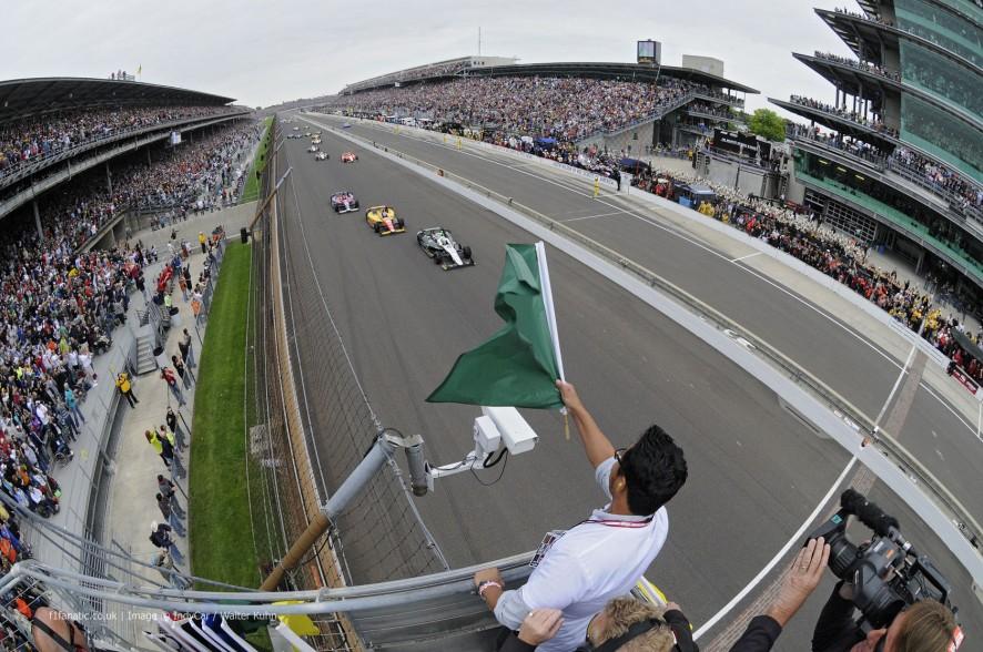 Indianapolis 500 start, 2013